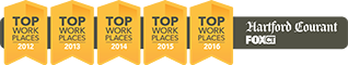 Hartford Courant - Top Work Places 2012 / 2013 / 2014 / 2015 / 2016